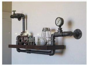 industrial design con tubi idraulici