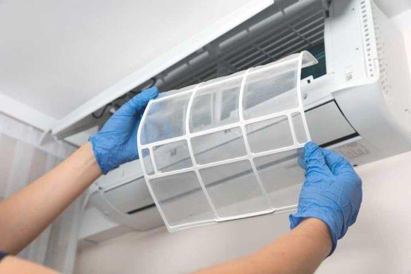 pulizia filtri condizionatore