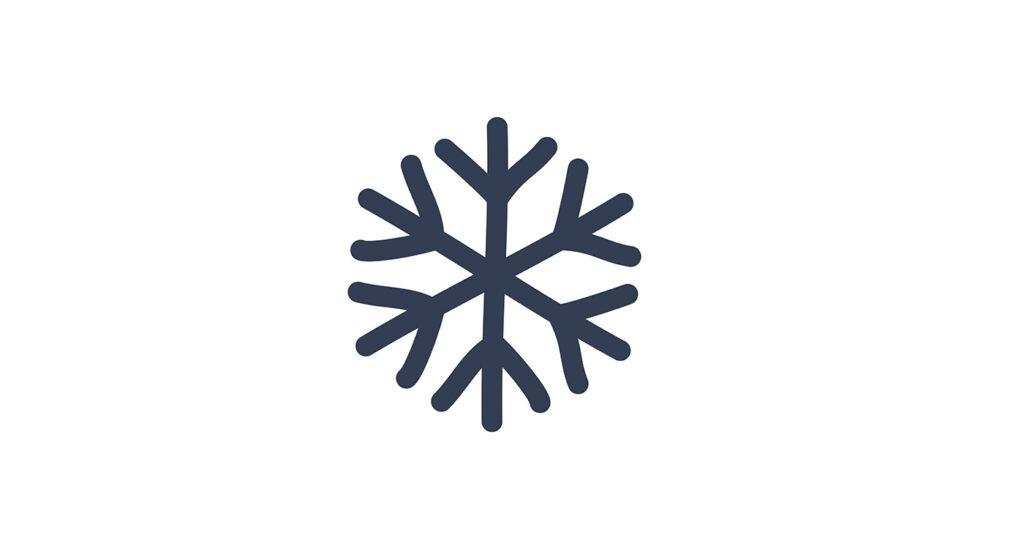 simbolo raffrescamento