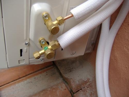 rubinetti gas unita esterna